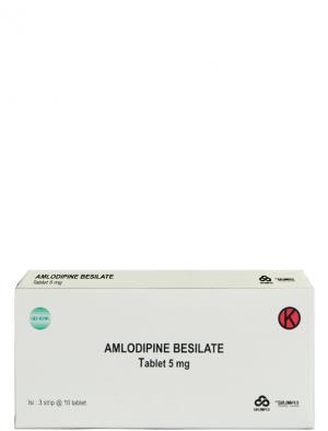 Amlodipine Besilate Tablet 5mg