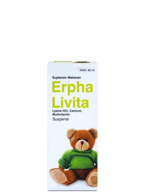 Erphalivita Syrup 60 ml