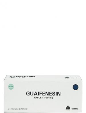 Guaifenesin Tablet 100 mg